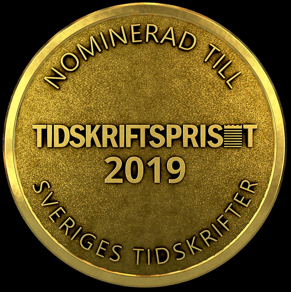 Tidskriftpris 2019